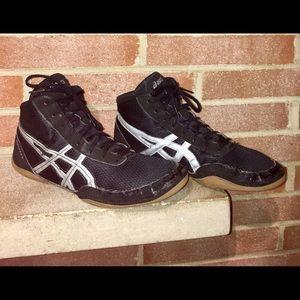 best service 7eb93 f7dad ... ASICS matflex 5 Men s Size 11 44EU wrestling shoes ...